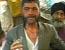 Indian man eats glass for dinner