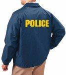 Police raid jacket